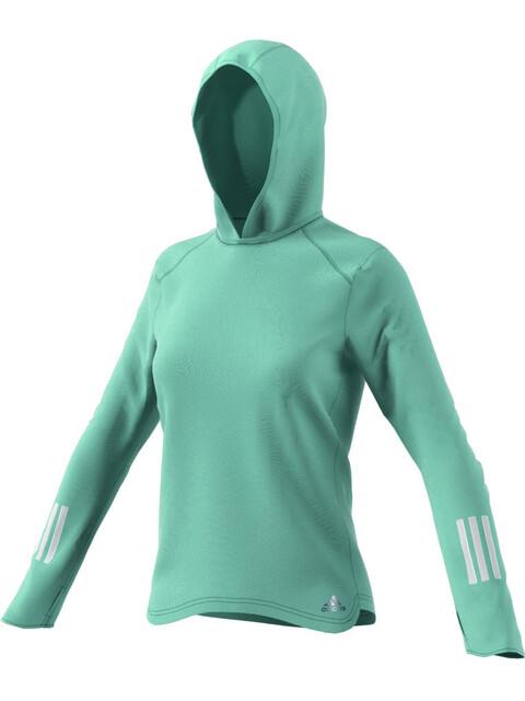adidas Response Climawarm Hoodie Women tactile green